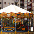 Carousel on a street  — Stock Photo