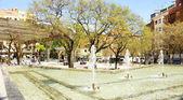 Kašna náměstí virrey amat — Stock fotografie