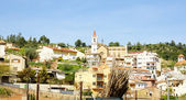 Panoramic of Torrelles of Llobregat — Stock Photo