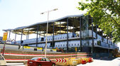 Construction of the Nuevos Encantes or Fira of Bellcaire — Stock Photo