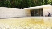 Mies Van der Rohe pavilium — Stock Photo