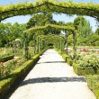 Gardens of El Retiro in Madrid — Stock Photo