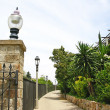 Stock Photo: Gardens of Montjuic