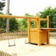 Stock Photo: Playground Montjuic mountain