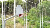 Basketball basket — Stock Photo