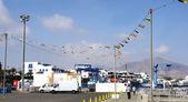 Port of Playa Blanca — Stock Photo