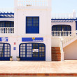 Canarian architecture in Puerto del Carmen — Stock Photo