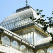 Interior and exterior view of Crystal Palace — Lizenzfreies Foto