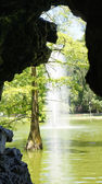 Pond Crystal Palace in El Retiro — ストック写真