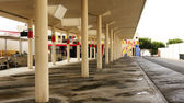 Guagua or bus station in Arrecife — Stock Photo