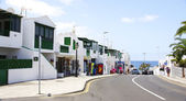Streets and houses of Puerto del Carmen — Stock Photo