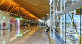 Interior of Terminal 4 at Barajas Airport — Stock Photo