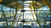 Interior of Terminal 4 at Barajas Airport — Stock Photo