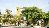 Farnost krista krále v náměstí de elche — Stock fotografie