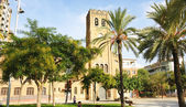 Parish of Christ the King in the square de Elche — Stockfoto