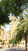 Parish of Christ the King in the square de Elche — Stock Photo