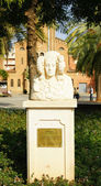 Retort of Dama de Elche in Elche Square — Stock Photo