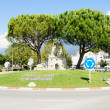 Stock Photo: Roundabout of SantMariPalautordera