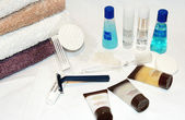 Products Welcome to a hotel — Стоковое фото