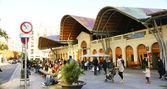 Santa Caterina Market in Barcelona — Stock Photo