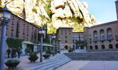 Basilica of Montserrat — Stock Photo