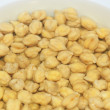 Stockfoto: Soak chickpeas