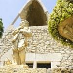 Chapel in the architectural complex of Antonio Gaud El Garraf, Barcelona — Stock Photo #47356151