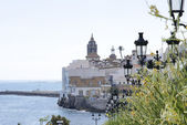 Panoramic of Sitges — Stock Photo