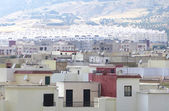 Overview of a city in Morocco — 图库照片