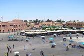 Torget i marrakech — Stockfoto
