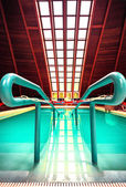Thermal swimming pool in one of the Hungarian hospital — Stok fotoğraf