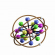 Stock Photo: Chemical Bonding Model.