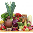 Stock Photo: Vegetables and fruit