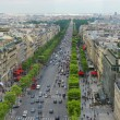 Champs Elysees in Paris France — Stock Photo #27945947
