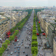 Stock Photo: Champs Elysees in Paris France