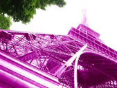 Eiffel Tower, Paris, — Stock Photo