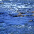 River in motion nature background — Vídeo de stock