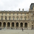 The Louvre Museum circa in Paris, France — Stock Video