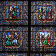 Window of Notre Dame  — Stock Photo
