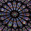 North Rose window — Stockfoto