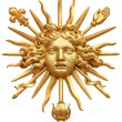 Stock Photo: Golden sun