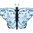 Water butterfly — Stock Photo
