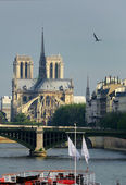 Notre Dame de Paris — Stock Photo