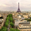 Paris panoramic — Stock Photo #46390451
