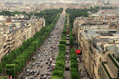 Champs Elysees in Paris France — Foto de Stock