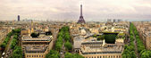 Paris panoramic — Stock Photo