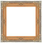 Vintage gold frame — Stock Photo