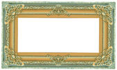 Picture green frame — Stock Photo