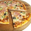 Pizza — Foto Stock