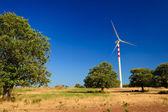 Aeolian energy in Calabria — Stock Photo